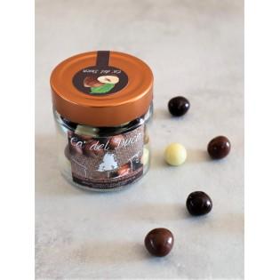 Nocciole Piemonte IGP tostate ricoperte di cioccolato